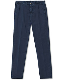 Regular Fit Garment Dyed Slacks Navy