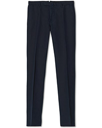 Slim Fit Chinolino Trousers Navy