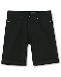 Ash Forever Stretch Denim Shorts Black