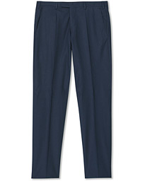 Techno Lino Stretch Trousers Navy