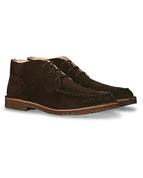 Dukeflex Chukka Boot Dark Brown Suede