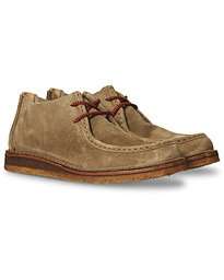 Beenflex Unlined Chukka Stone Suede