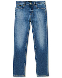 Slim Fit Stretch Denim Light Wash