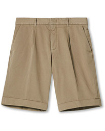 Drawstring Chino Shorts Beige
