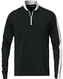 Ry Mid Layer Active Mesh Half Zip Black/White