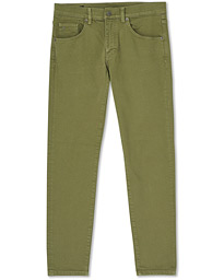 Jay Solid Strech 5 Pocket Trousers Lake Green