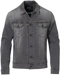 Hyperflex Bio Denim Jacket Washed Black