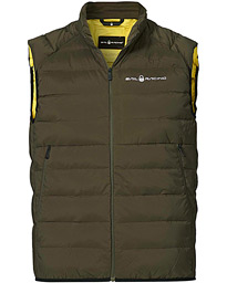 Spray Down Vest Forest Green
