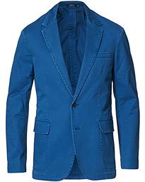 Cotton Stretch Sportcoat Federal Blue