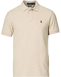 Custom Slim Fit Polo Epedition Dune Heather