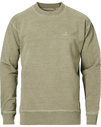 Sunbleached Crew Neck Sweatshirts Aloe Green