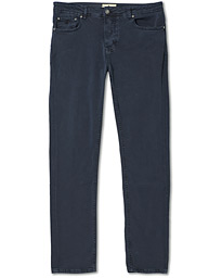 James Brushed 5-Pocket Pants Blue