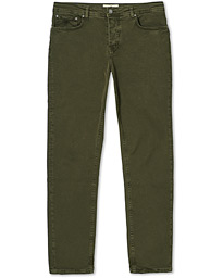James Brushed 5-Pocket Pants Olive