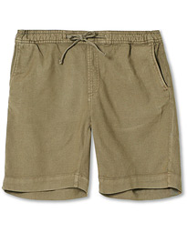 Windward Linen Drawstring Shorts Olive