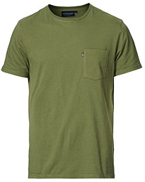 Travis Pocket Crew Neck Tee Green
