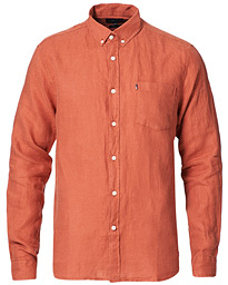 Ryan Linen Shirt Red