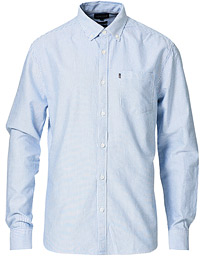 Kyle Oxford Shirt Blue/White Stripe