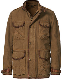 Journey Cotton Canvas Utility Jacket Mountain