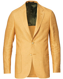 Color Club Linen Blazer Yellow