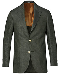 Color Club Linen Blazer Olive