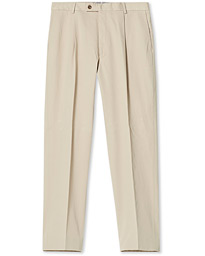 Philip Cotton Twill Trousers Khaki