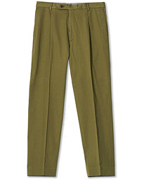 Philip Cotton Twill Trousers Olive