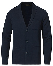 Lavanzo Knit Jacket Navy