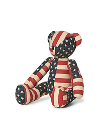 Teddy Bear Limited Edition Patchwork Flag