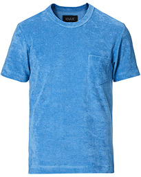 Fons Cotton Blend Terry Pocket Tee Rivieras