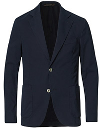 Egel Cotton Blazer Navy