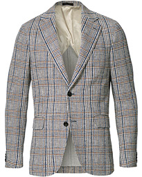 Egel Soft Checked Blazer Blue/Brown