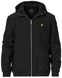 Softshell Hooded Jacket Jet Black