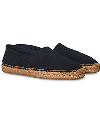 Flex Sole Espadrillas Navy Suede