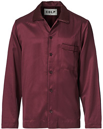 Home Suit Long Sleeve Top Burgundy