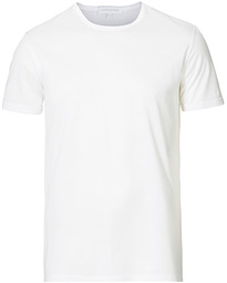 Filoscozia Fine Cotton Crew Neck T-Shirt White