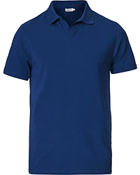 Soft Lycra Polo T-Shirt Marine Blue