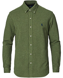 Featherweight Mesh Shirt Moss Green Heather