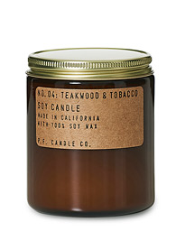 Soy Candle No. 4 Teakwood & Tobacco 204g