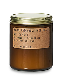 Soy Candle No. 19 Patchouli Sweetgrass 204g