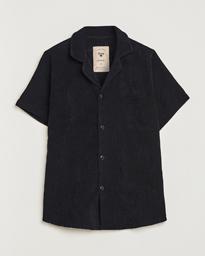 Terry Cuba Short Sleeve Shirt Black