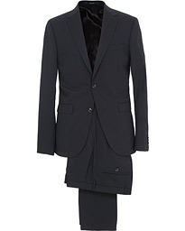 Henrie Wool Stretch Suit Navy
