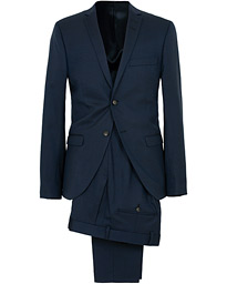 Jil Wool Stretch Suit Country Blue