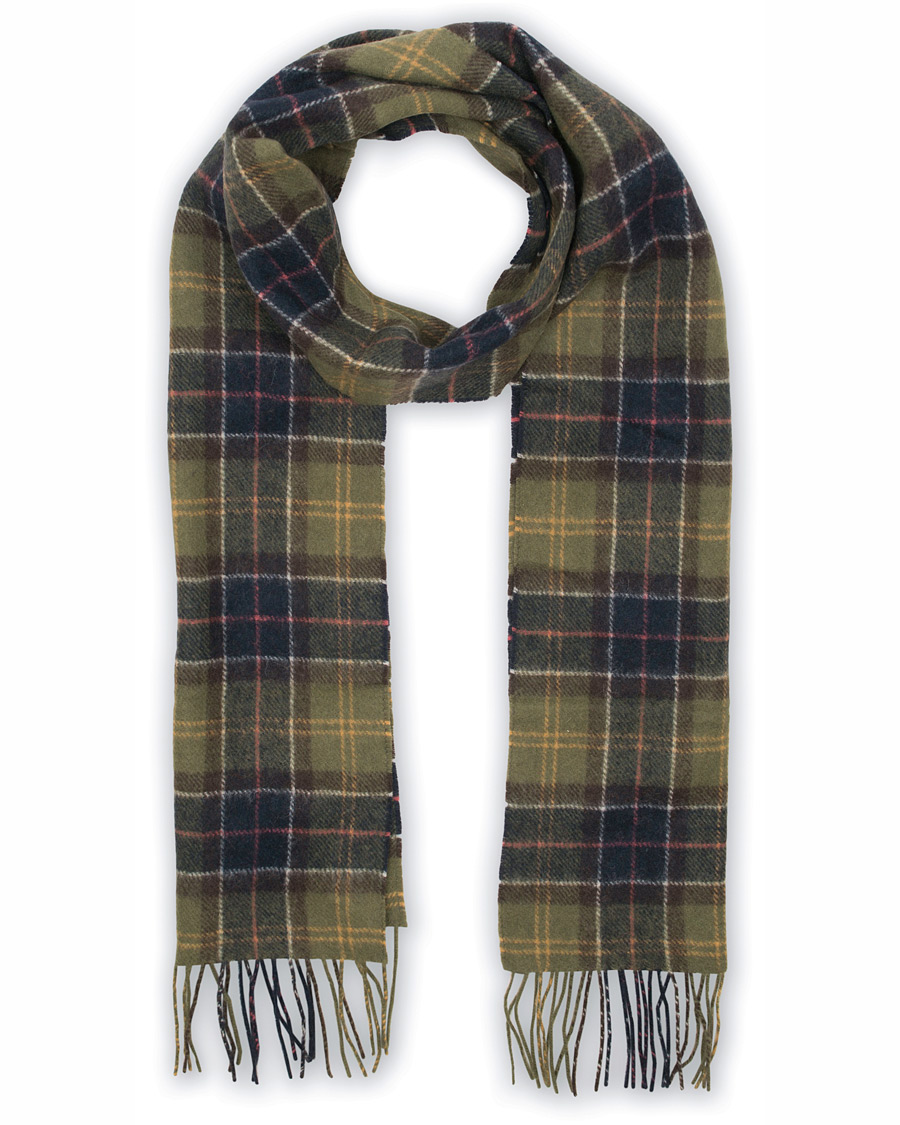 Barbour Lifestyle Tartan Lambswool Scarf Barbour Lifestyle Classic i  gruppen Accessoarer   Halsdukar hos Care of 37cd3403189e3