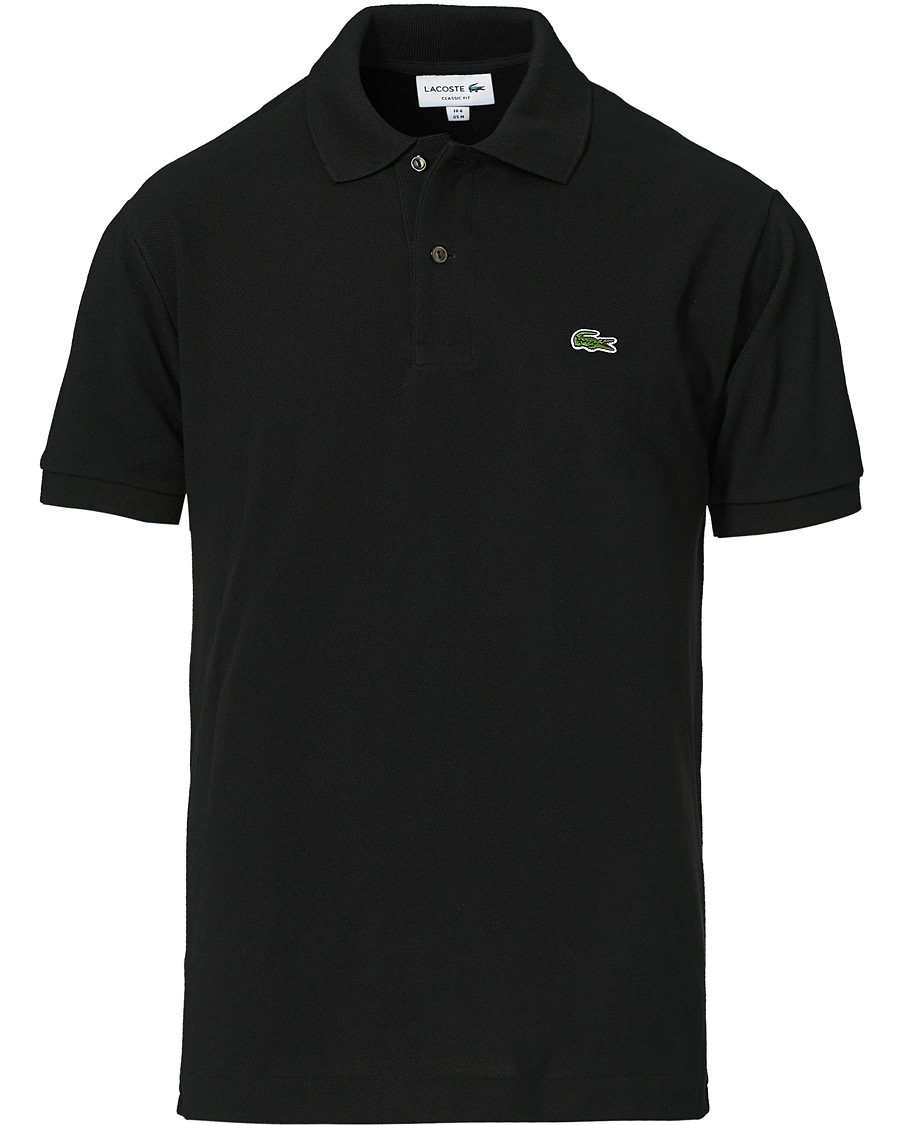 best website 527a3 3b01c Lacoste Original Polo Piké Black