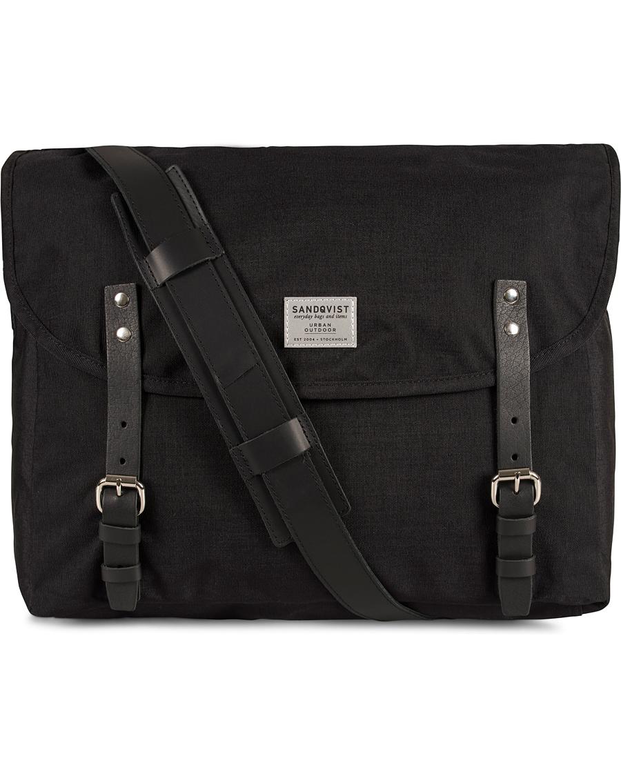 Sandqvist Erik Messenger Bag Cordura Black