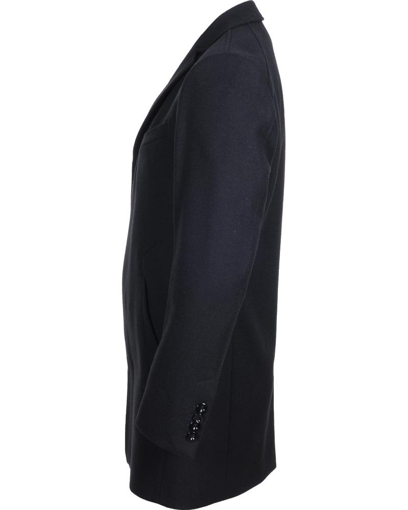 Tiger of Sweden Wilhelm 5 Wool Coat Black hos CareOfCarl.com ccd0f5bbf58df