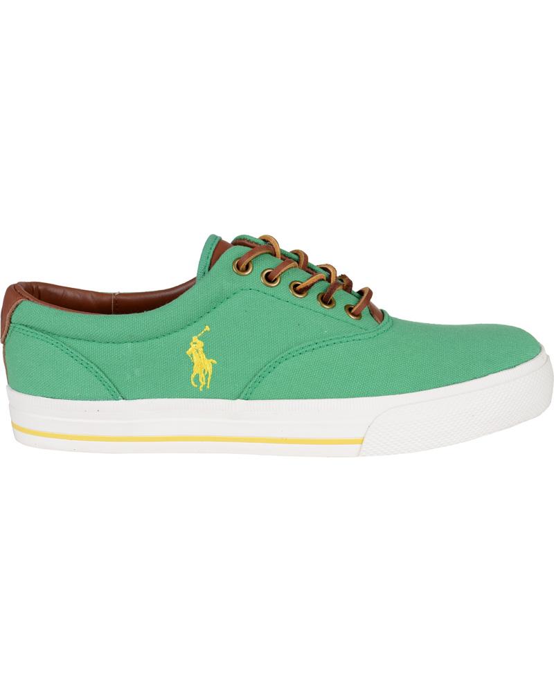 Polo Ralph Lauren Vaughn Sneaker Yellow hos