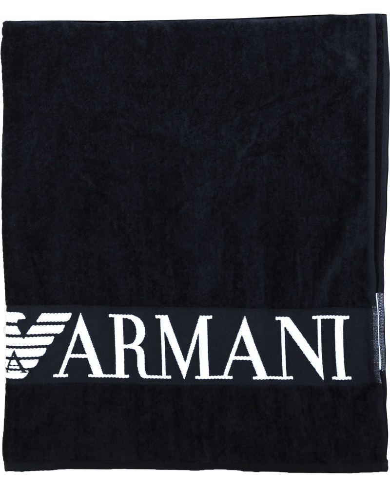 Emporio Armani Handduk Marine Blue - Köp Emporio Armani på CareOfCarl cee4563ae4607