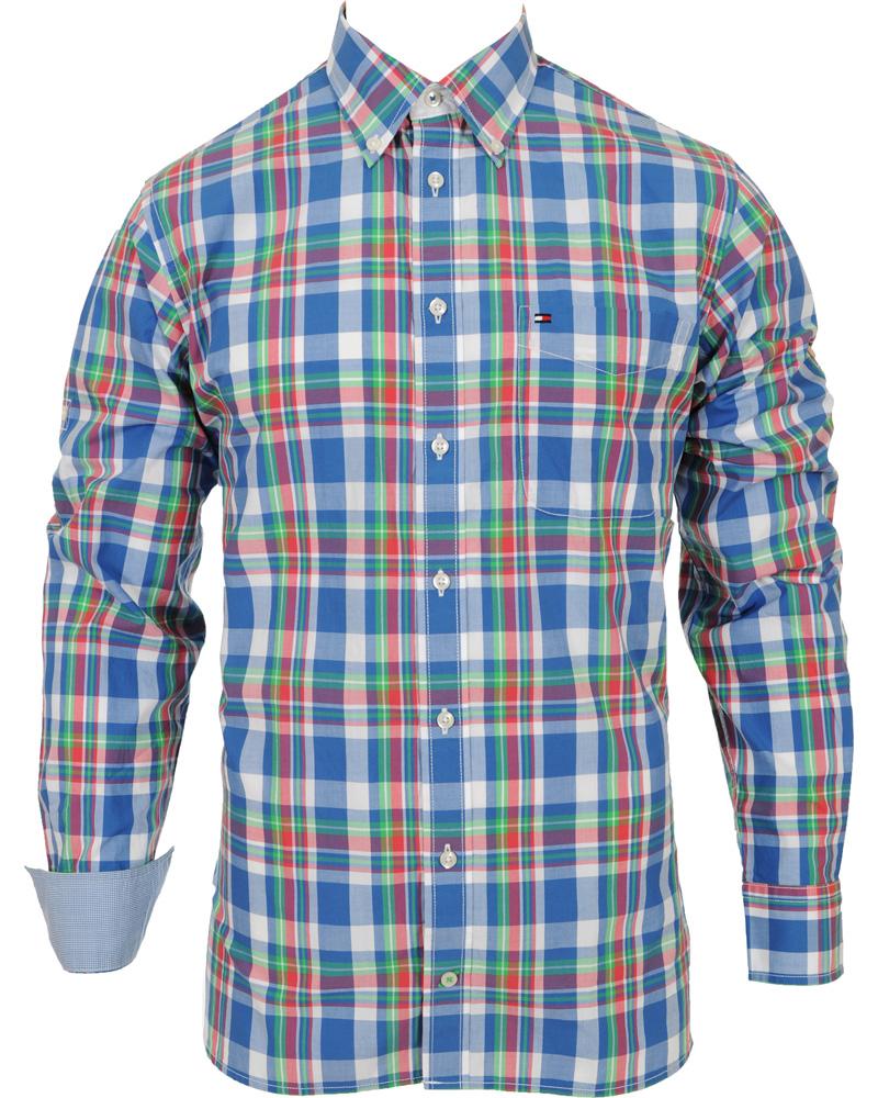 faad04e0b Tommy Hilfiger Michael Custom Fit Shirt Federal Blue hos CareOfCa