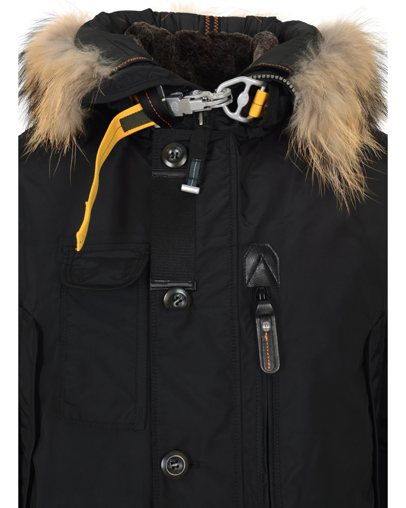 Parajumpers Kodiak Masterpiece Jacket Black hos